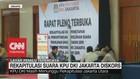 VIDEO: Rekapitulasi Suara KPU DKI Jakarta Diskors