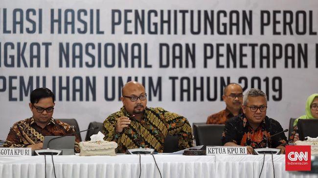 Penghitungan suara tinggal menyisakan Papua dan Maluku. KPU berharap semua bisa diselesaikan malam ini.