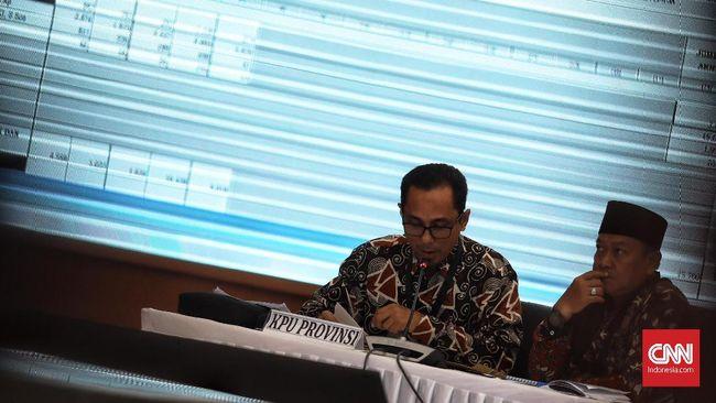 Ketua KPU Arief Budiman menyampaikan penetapan calon terpilih akan dilakukan 25 Mei, tiga hari setelah penetapan hasil rekapitulasi 22 Mei 2019.