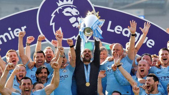 Manchester City berhasil menjadi juara Liga Inggris mengalahkan Liverpool sedangkan Tottenham Hotspur meraih tiket terakhir Liga Champions.