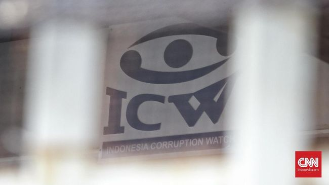 Logo Indonesian Corruption Watch (ICW). CNN Indonesia/Andry Novelino