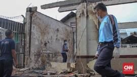 Polisi Olah TKP Kerusuhan Rutan Siak