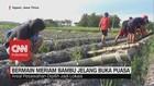 VIDEO: Serunya Bermain Meriam Bambu saat Jelang Buka Puasa