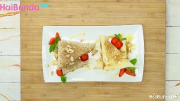 Menu Sahur: Almond Kaya Toast, Solusi Saat Si Kecil Bosan Nasi