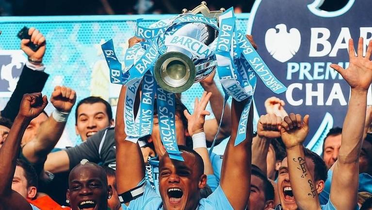 Manchester City berhak mengikuti kompetisi Liga Champions setelah keluar sebagai juara Liga Inggris musim ini.
