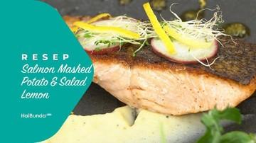 Resep Salmon Mashed Potato