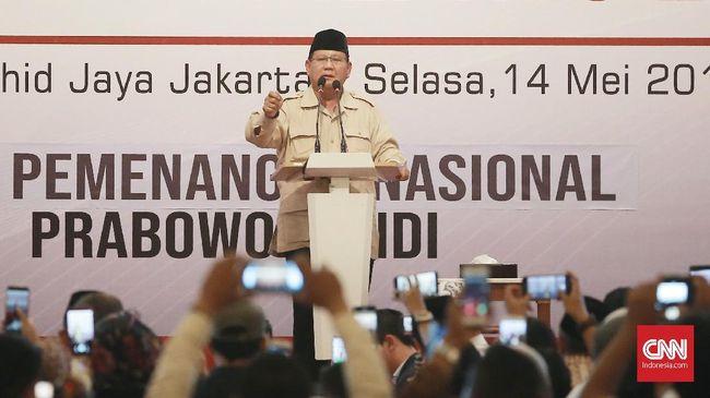 Prabowo Tolak Rekapitulasi Suara, Bukan Pelanggaran Pemilu