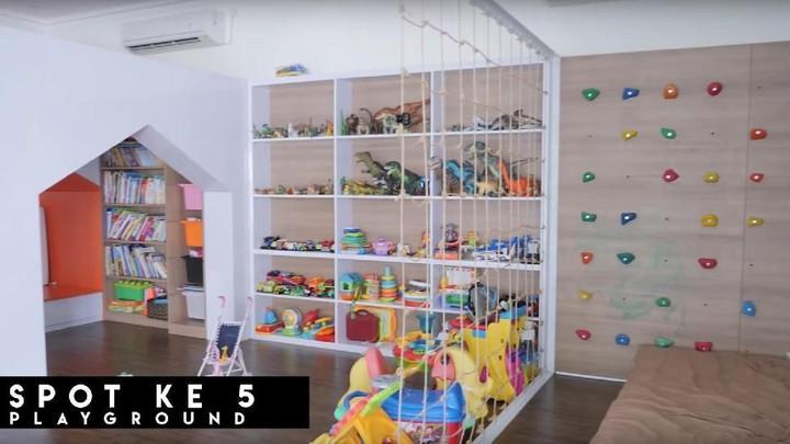 6 Spot Menarik Rumah Baru Shireen Sungkar, Ada Ruang Bermain Anak