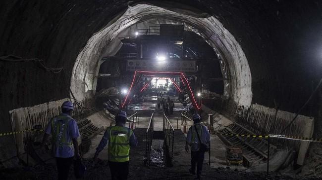 Konstruksi Kereta Cepat Jakarta-Bandung Capai 73 Persen