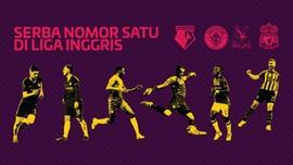 INFOGRAFIS: Serba Nomor Satu di Liga Inggris