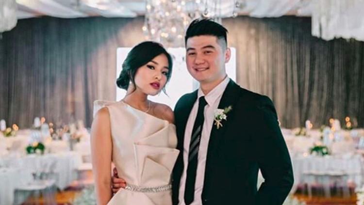 Chef Arnold Poernomo dan istrinya, Tiffany Soetanto menyambut kelahiran anak pertama mereka.