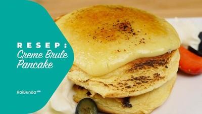Resep Creme Brule Pancake