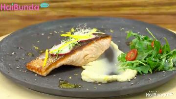 Menu Sahur: Salmon Mashed Potato, Lauk Kaya Protein dan Vitamin