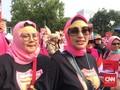 Ratusan Perempuan Demo Istana Tuntut Setop Situng KPU