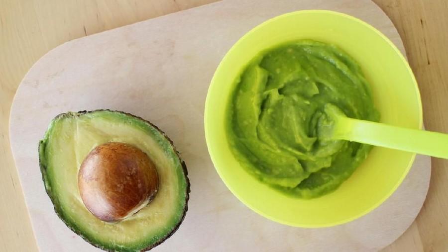 Resep Avocado Puree, Rekomendasi MPASI Saat Mudik