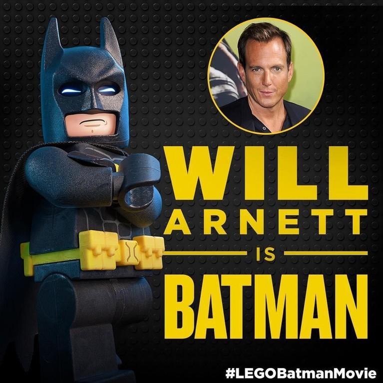 The Lego Movie menjadi film pertama aktor asal Kanada, Will Arnett, dalam memerankan Batman. Film tersebut mendapatkan pendapatan lebih dari Rp6,7 triliun.