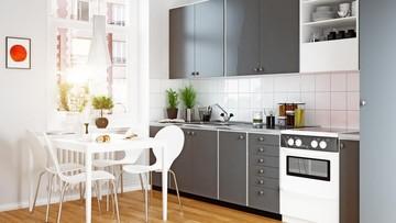 7 Dekorasi Dapur Sempit Agar Bunda Yang Claustrophobia Tak Takut