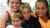 <p>Kelima anak Arnold bernama Katherine, Joseph, Patrick, Christina, dan Christopher, yang semua menyandang nama belakang sang ayah, Schwarzenegger. (Foto: Instagram @katherineschwarzenegger)</p>