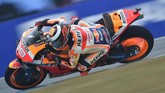 Marc Marquez mencatat pole position ke-55 sepanjang karier membalap di MotoGP, menyamai sekaligus berpeluang melampaui catatan Valentino Rossi