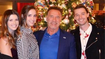 9 Momen Kehangatan Arnold Schwarzenegger Bersama Kelima Anaknya