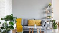 <em>Mix and match</em> dekorasi berwarna kuning dan abu-abu menjadi pilihan baru di tahun ini. Berani coba? (Foto: iStock)