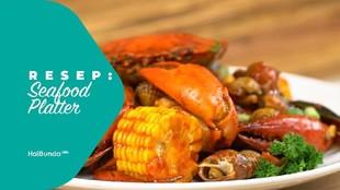 Resep Seafood Platter