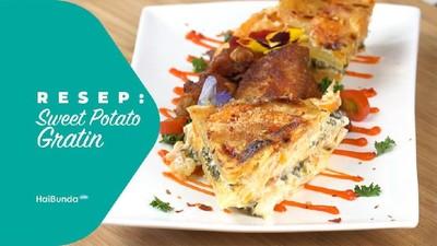 Resep Sweet Potato Gratin