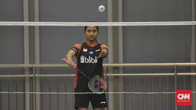Wakil Indonesia di sektor tunggal putra dan ganda putri tampil sebagai juara di turnamen badminton Austrian Open 2021.