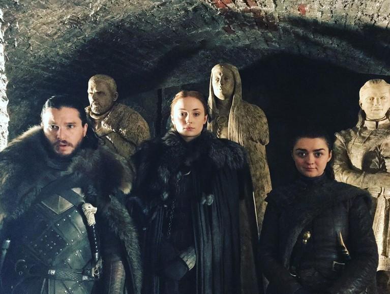 Sophie Turner, pemeran Sansa Stark dalam serial GOT Season 8 menulis salam perpisahannya dalam instagram pribadinya,