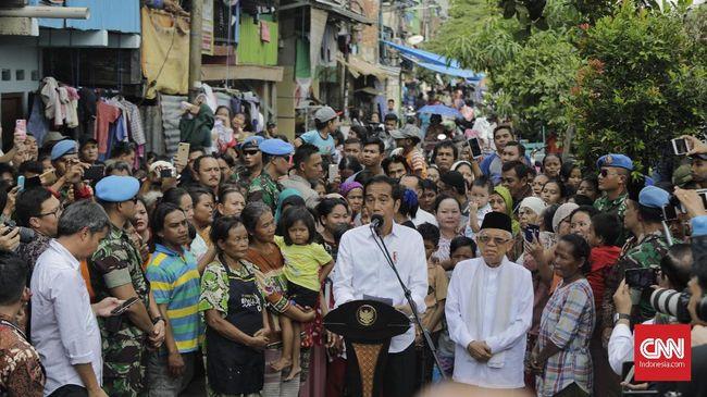 Jokowi mengaku ingin melanjutkan pembangunan Kampung Deret, seperti dia memulainya pada 2013 saat menjadi gubernur DKI Jakarta.