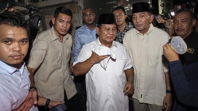 Pasangan calon 02 Prabowo Subianto-Sandiaga Uno menyatakan menolak hasil Rekapitulasi Pilpres 2019 KPU yang menyebut kemenangan Joko Widodo-Ma'ruf Amin.