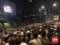 Negosiasi Alot, Massa Aksi Bawaslu Enggan Bubar