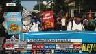 VIDEO: Aksi Massa di Depan Gedung Bawaslu Sempat Memanas