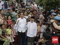 FOTO: Pidato Kemenangan Jokowi di Kampung Deret
