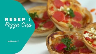 Resep Pizza Cup
