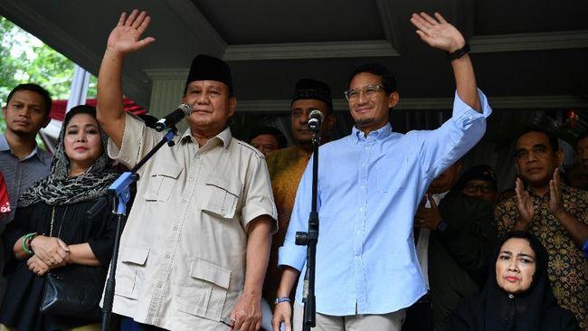 Pada dokumen permohonan yang diunggah di situs MK, Prabowo-Sandi minta hakim konstitusi memenangkan mereka dengan perolehan 68.650.239 (52 persen) suara.