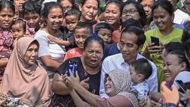 Gemuruh Kemenangan Kedua Jokowi dari Kampung Deret