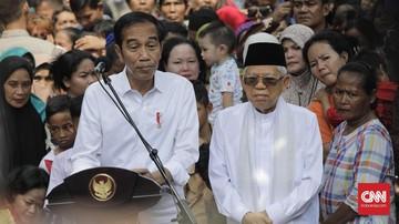 KPU Akan Tetapkan Jokowi-Ma'ruf Pada Minggu 30 Juni