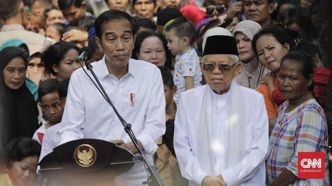 Cawapres Ma'ruf Amin menilai gugatan Prabowo ke MK merupakan hak politik, yang sah dilakukan dalam tiap kontestasi pilpres.