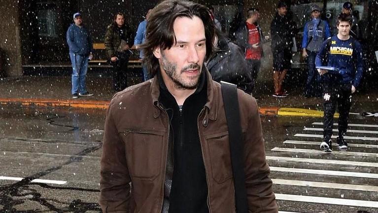 Keanu Reeves kembali mendulang kesuksesan dalam bermain sebagai serial John Wick sebagai peran utama.