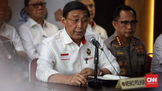 Wiranto menyebut pihaknya sudah mengetahui dalang kerusuhan yang menciptakan kebencian hingga kondisi antipemerintah dalam aksi 22 Mei.