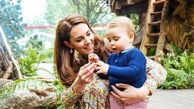 Respons Manis Kate Middleton Saat Pangeran Louis Mengisap Jempol