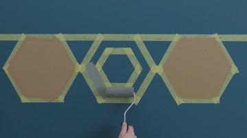 Menarik Dicoba, Cara Mengecat Dinding Seperti Wallpaper