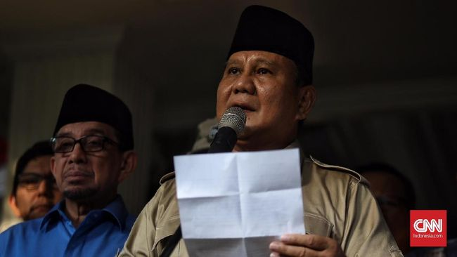Prabowo Subianto dilaporkan tengah melayat ke rumah duka mendiang Muhammad Arifin Ilham Sentul, Bogor, Jawa Barat.