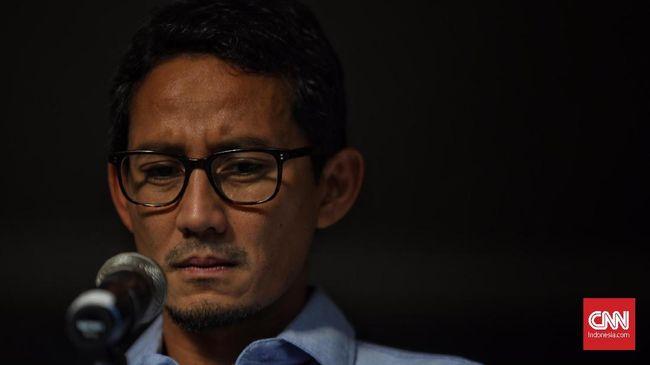 Sandiaga mengatakan bersama Prabowo akan mendaftarkan sengketa Pilpres 2019 ke MK besok pukul 14.00 WIB, dan bakal mengabaikan aksi di luar jalur konstitusi.