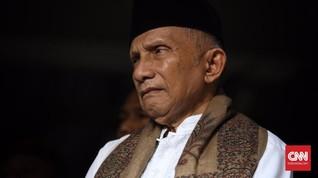 Amien Rais Respons Amarah Jokowi dan Isu Reshuffle