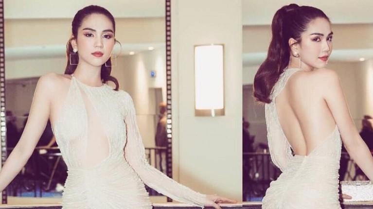 Salah satu model Vietnam, Ngoc Trinh kena tegur pejabat di negaranya. Hal ini karena bajunya yang kelewat seksi saat Festival Cannes 2019.