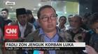 VIDEO: Fadli Zon Jenguk Korban Luka Aksi Massa 22 Mei