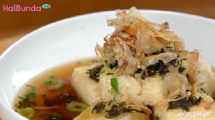 Menu Buka Puasa: Agedashi Tofu, Lembutnya Tahu plus Kuah Kaldu