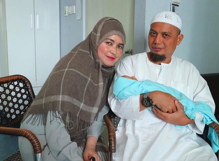 <p>Ustaz Arifin Ilham dikaruniai cucu pertama di 2017. (Foto: Instagram @yusufalvinramadhan)</p>